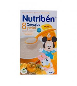 NUTRIBEN 8 CEREALES Y MIEL FIBRA