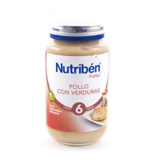 NUTRIBEN POLLO CON VERDURAS
