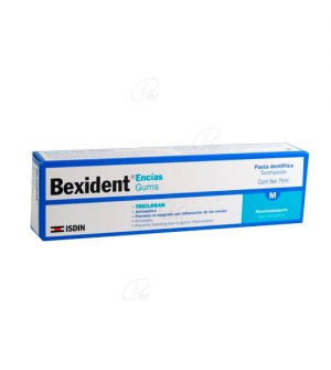BEXIDENT ENCIAS PASTA DENTAL TRICLOSAN
