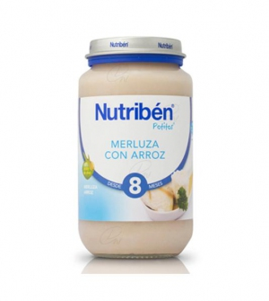 NUTRIBEN MERLUZA CON ARROZ