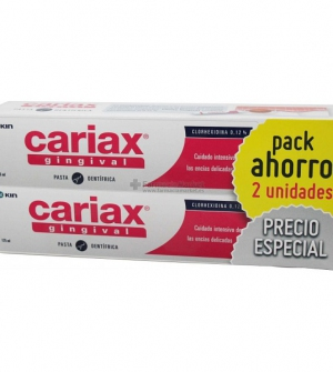 KIN CARIAX GINGIVAL PASTA DENTÍFRICA